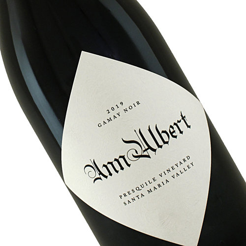 Ann Albert 2019 Gamay Noir Presquile Vineyard Santa Maria Valley