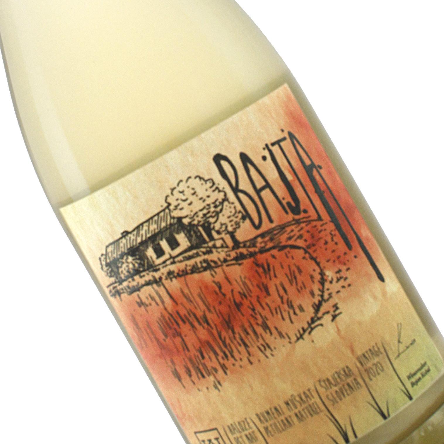 Kobal 2020 Bajta Muskat Pet-Nat Sparkling Wine, Slovenia