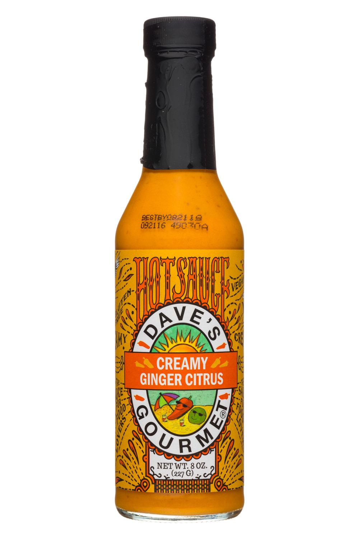 Dave's Gourmet Creamy Ginger Citrus Hot Sauce, 8 oz