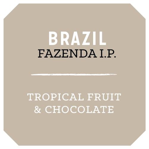 "Rose Park Coffee Roasters ""Brazil Fazenda I.P."" Whole Bean Coffee 12.oz. Bag - Long Beach"