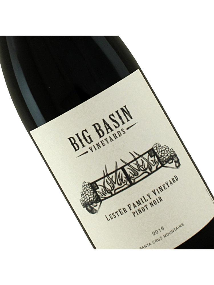 Big Basin Vineyards 2016 Pinot Noir Lester Family Vineyard, Santa Cruz Mountains