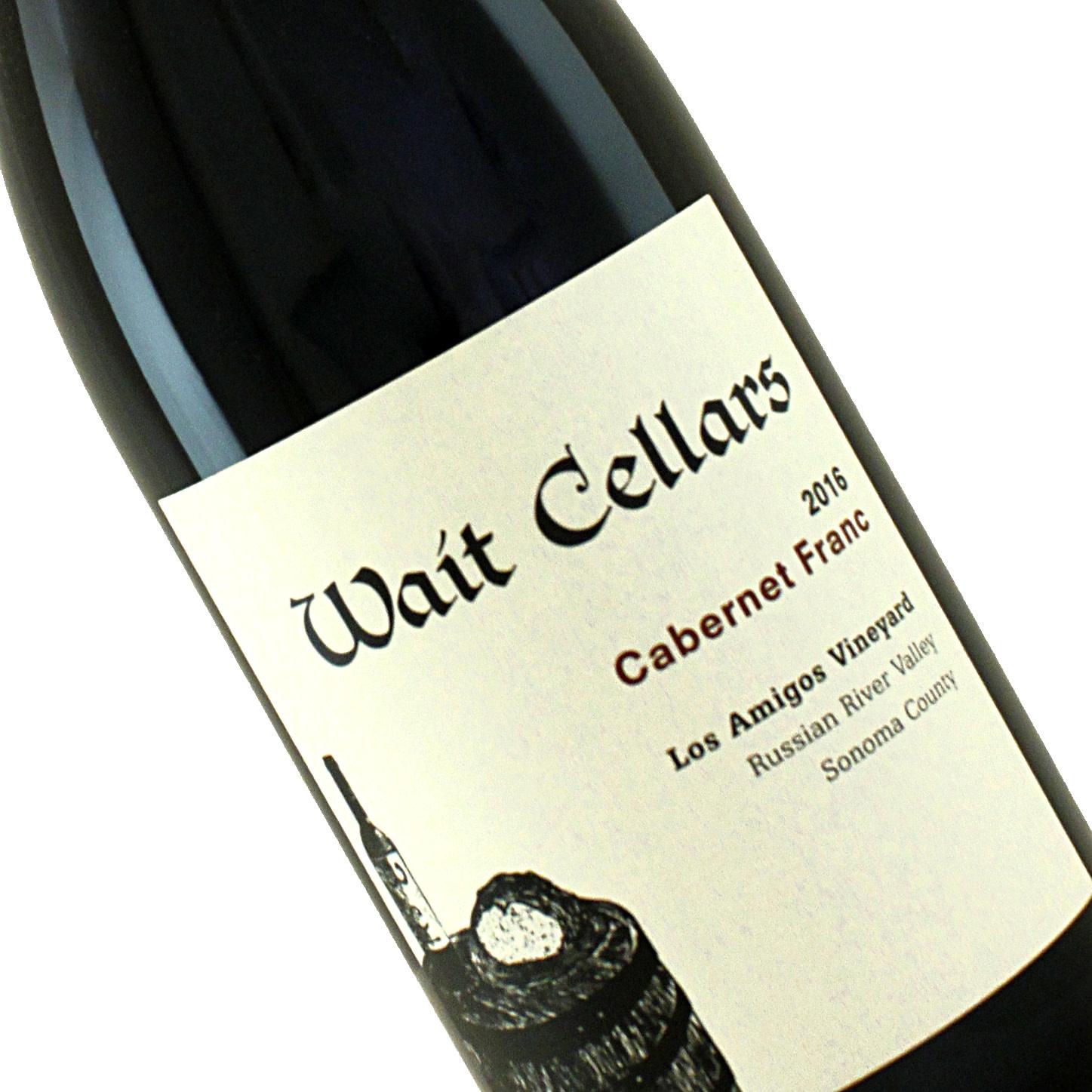 Wait Cellars 2016 Cabernet Franc Los Amigos Vineyard Russian River Valley, Sonoma County