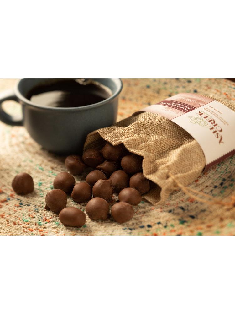 Ash Creek Milk Chocolate Hazelnuts, 4 oz