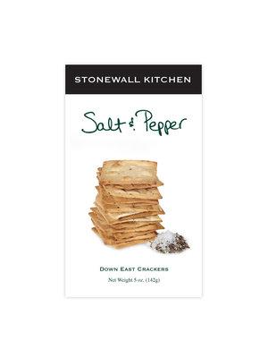Stonewall Kitchen Down East Salt & Pepper Crackers, 5 oz
