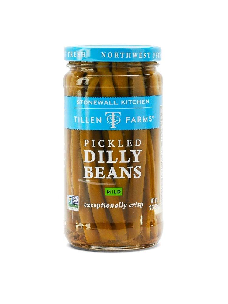 Tillen Farms Pickled Dilly Beans - Mild, 12 oz