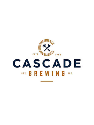 "Cascade Brewing ""Blue Verbana"" Barrel Aged Blueberry Sour 12oz can-Portland, Oregon"