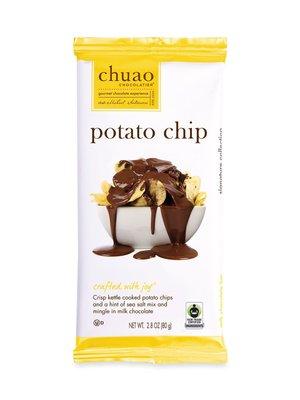 Chuao Potato Chip Chocolate Bar, 2.8 oz