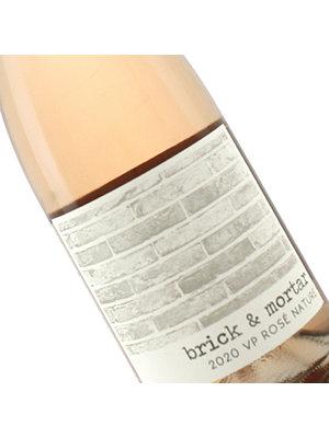 Brick & Mortar 2020 Rose Nature Vin Pettillant, Sonoma County
