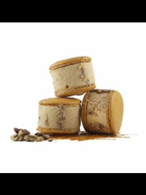 Maven's Macaron Ice Cream Sandwich - Salted Caramel 2.35 oz., San Jose