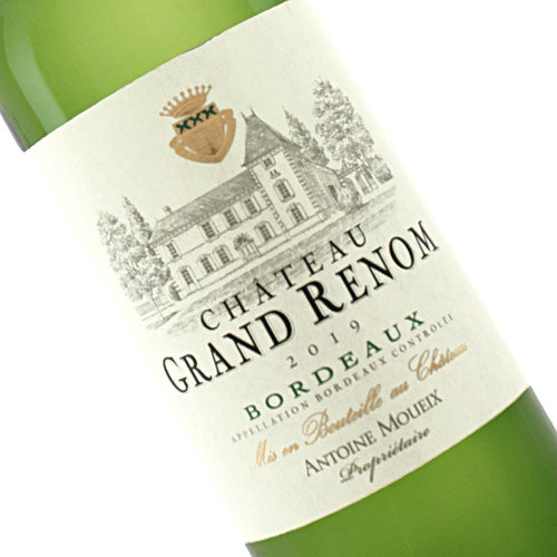 Chateau Grand Renom 2019 Bordeaux White Wine