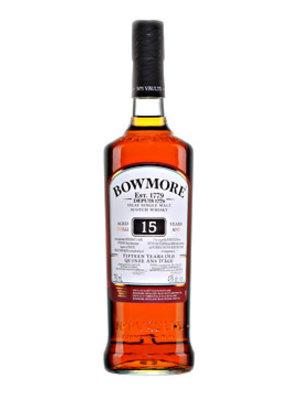 Bowmore 15 Year Old Single Malt Islay Scotch Whisky
