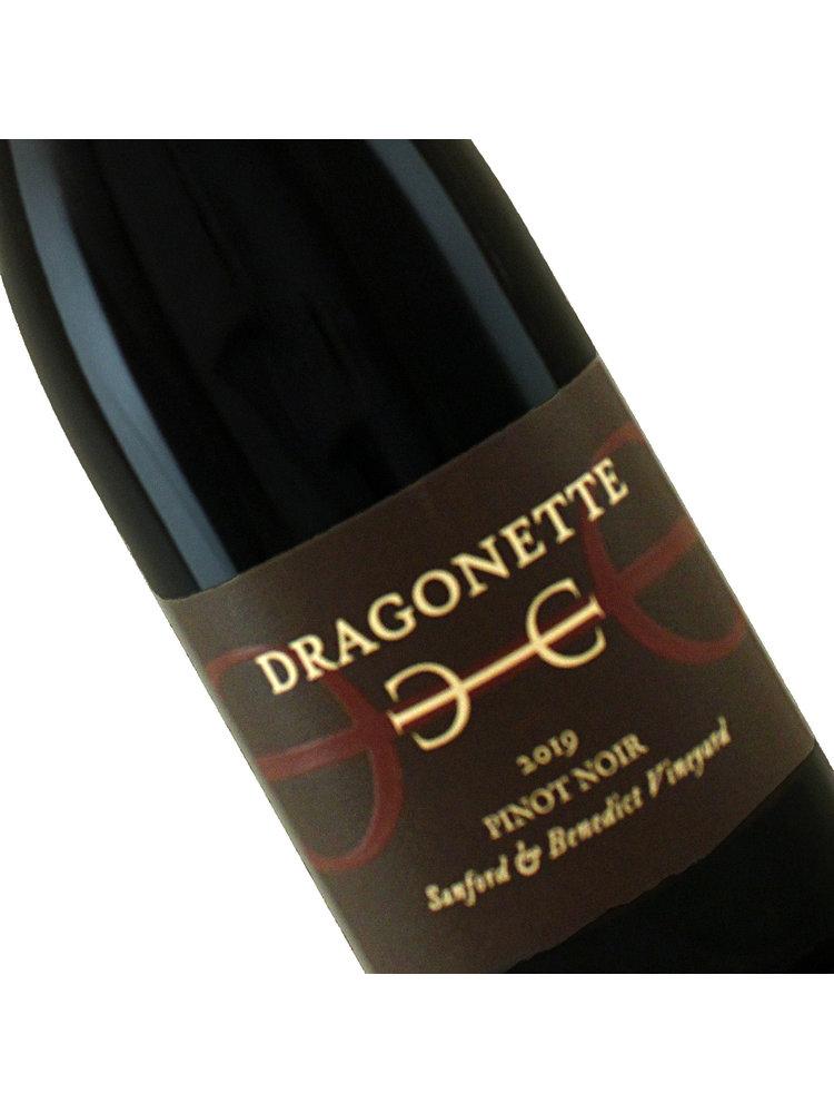 Dragonette Cellars 2019 Pinot Noir Sanford & Benedict Vineyard, Sta. Rita Hills