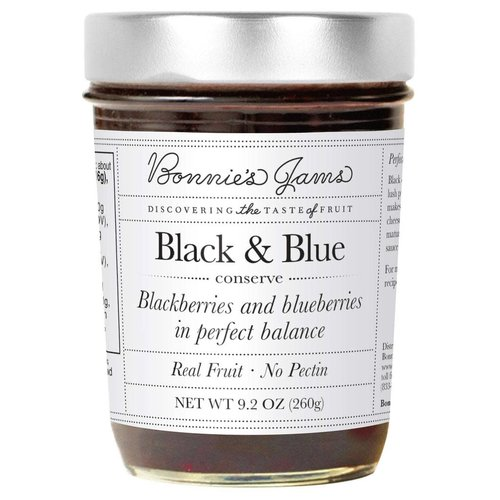 Bonnie's Jams  Blackberry & Blueberry Conserve 9.2oz