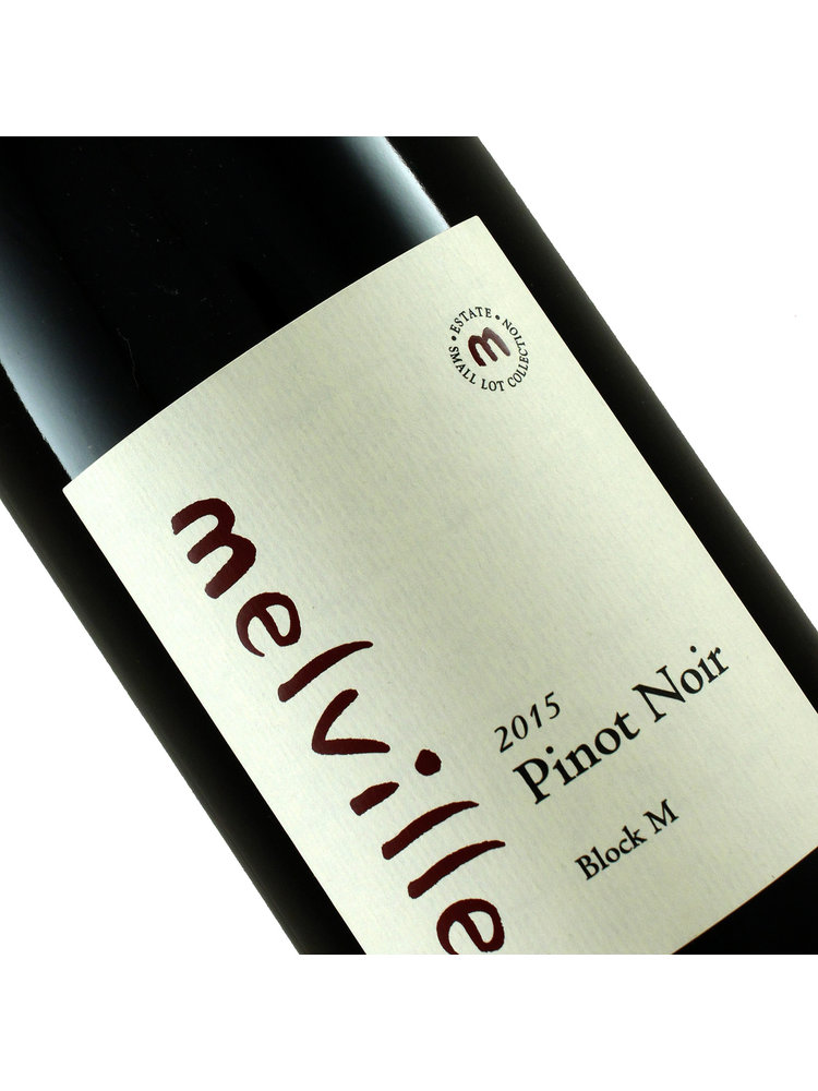 """Melville 2019 Pinot Noir """"Block M"""" Sta. Rita HIlls"""