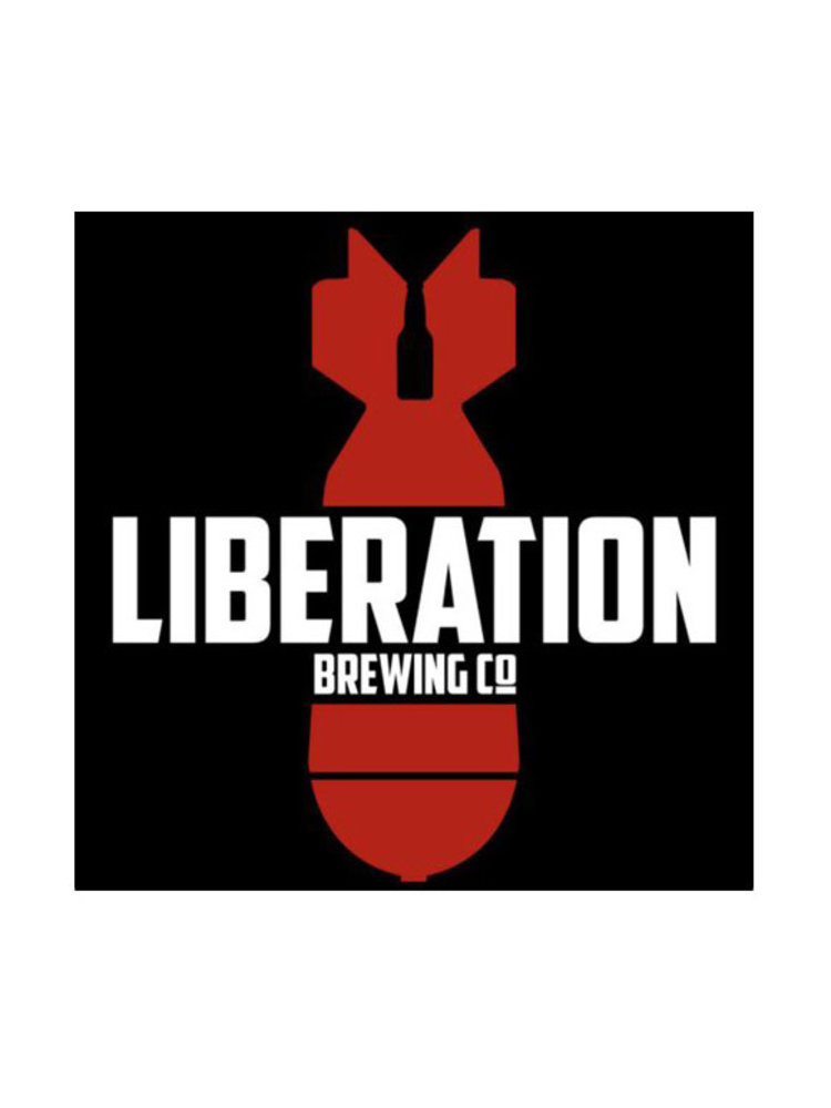 """Liberation Brewing """"Rocketbier"""" Helles Lager 12oz can- Long Beach"""