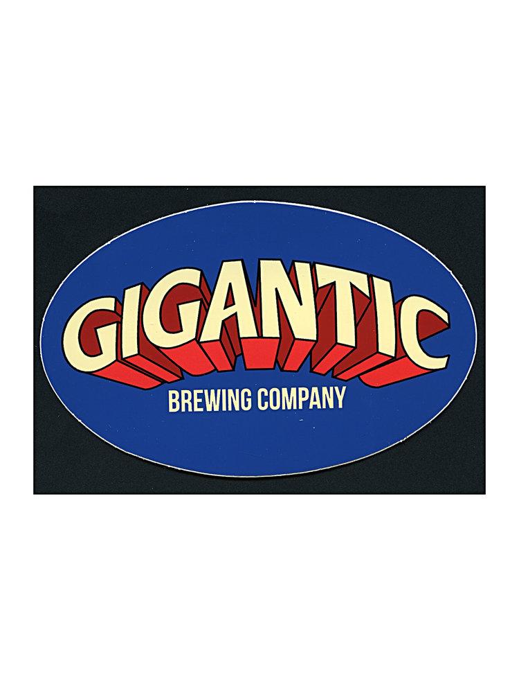 "Gigantic Brewing Co ""Project Pils: Crystal"" Hoppy Pils 500ml bottle- Portland, Oregon"