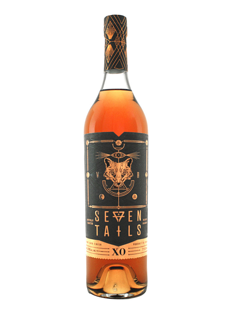 Seven Tails XO French Brandy--AUGUST SPIRIT OF THE MONTH!