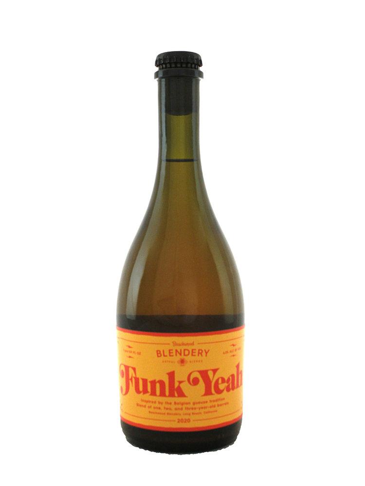 "Beachwood Blendery ""Funk Yeah"" Belgian-Style Sour Ale 500ml. bottle - Long Beach, CA"
