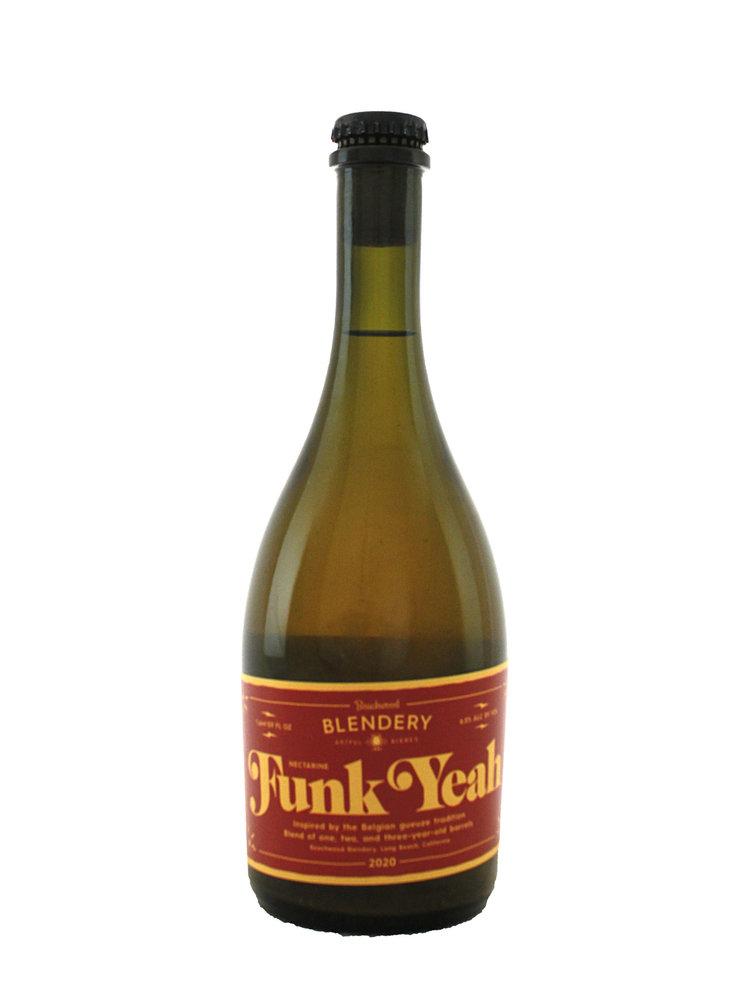 """Beachwood Blendery """"Funk Yeah"""" Belgian-Style Sour Ale w/ Nectarines 500ml. bottle - Long Beach, CA"""