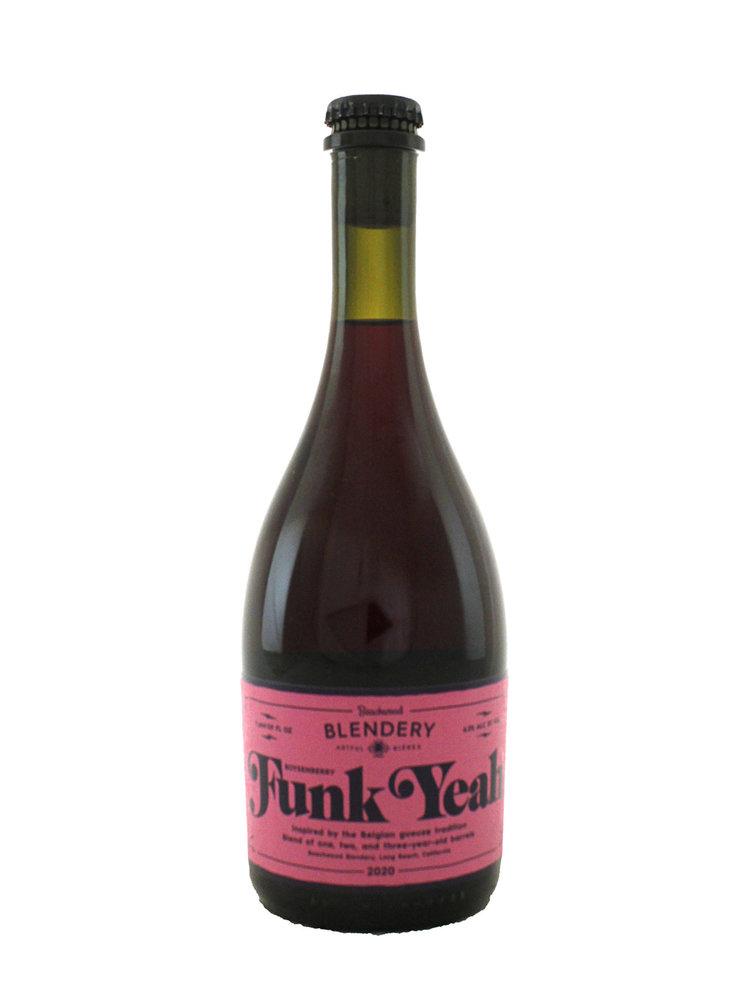 "Beachwood Blendery ""Funk Yeah"" Belgian-Style Sour Ale w/Boysenberries 500ml. bottle - Long Beach, CA"