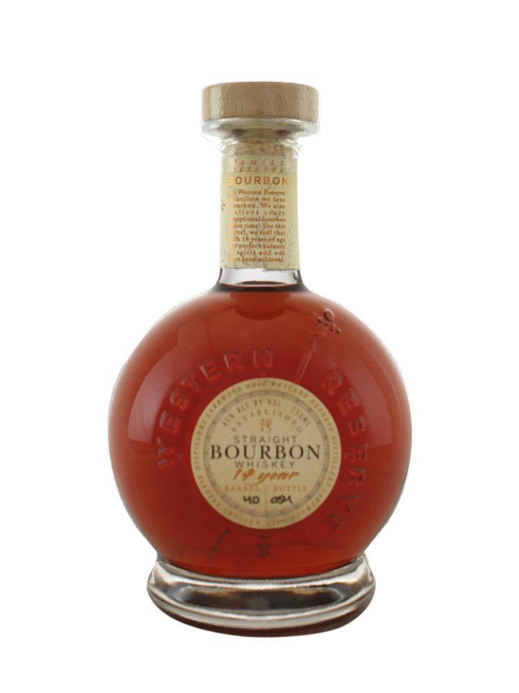 Western Reserve Distiller's 14 year Bourbon