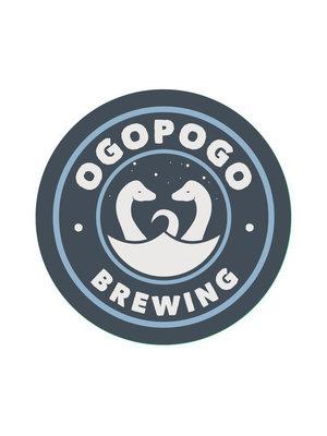 """Ogopogo Brewing """"Q"""" Barrel Aged Stout 16oz cans-San Gabriel, CA"""