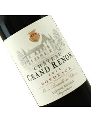 Chateau Grand Renom 2018 Bordeaux Red Wine