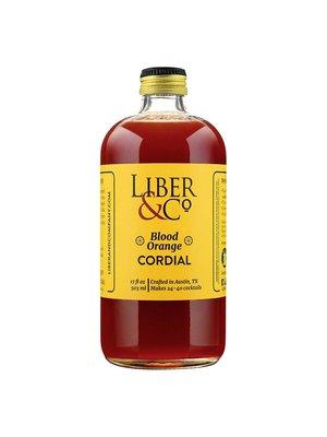 Liber & Co. Blood Orange Cordial, 9.5 fl oz