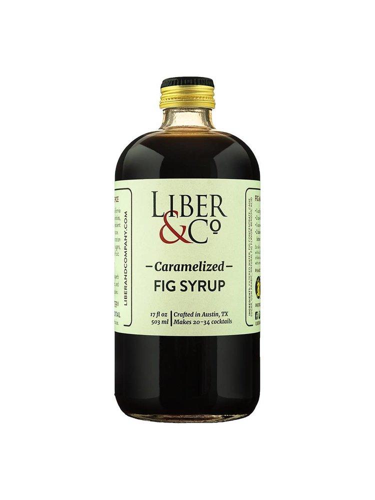Liber & Co. Caramelized Fig Syrup, 9.5 fl oz