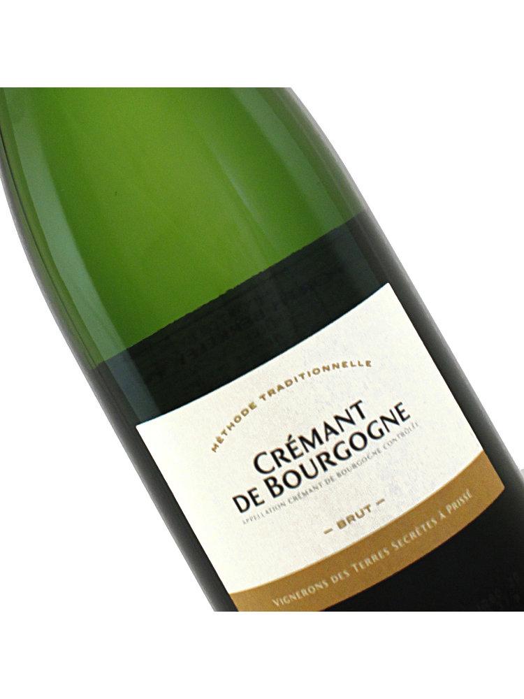 Terres Secretes N.V. Cremant De Bourgogne Brut  White Sparkling Wine, France