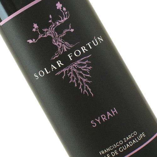 """Francisco Zarco 2018 Syrah """"Solar Fortun"""" Valle De Guadalupe, Baja California"""