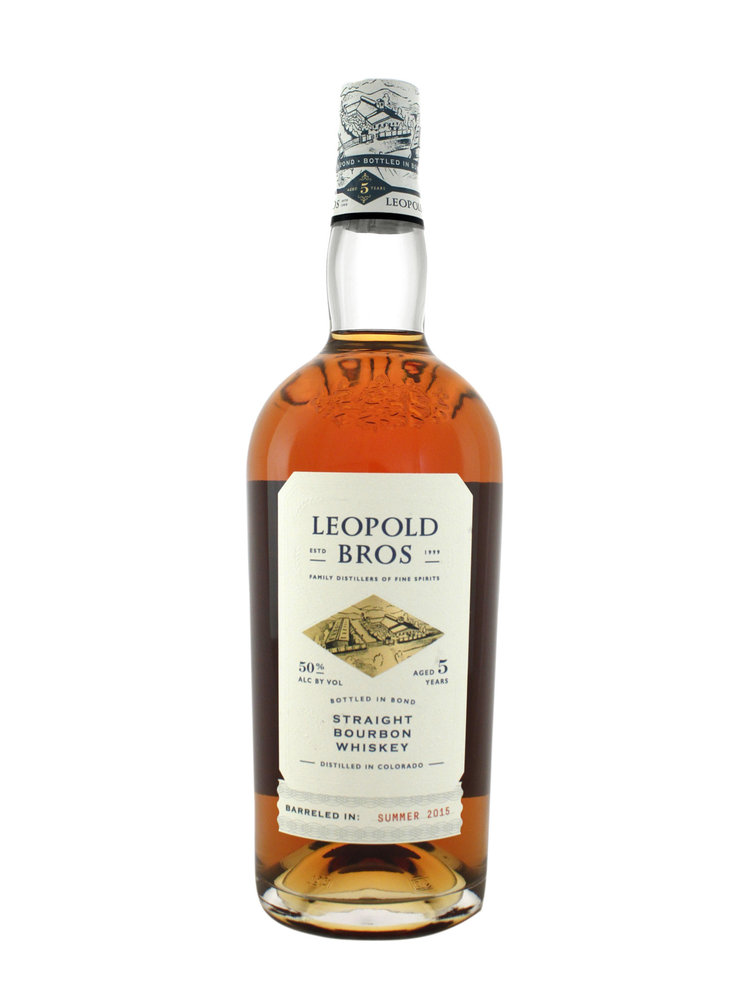 Leopold Bros. Straight Bourbon Whiskey Aged 5 Years, Denver, Colorado
