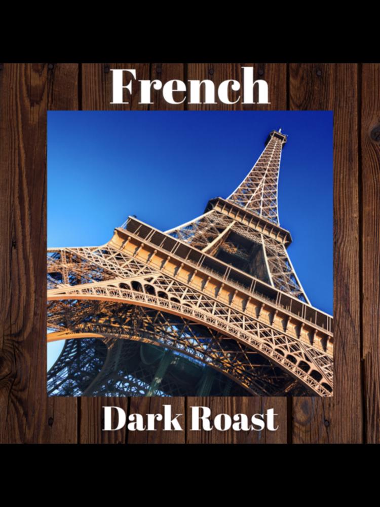 Sheldrake Coffee Roasting, French Roast Whole Bean Coffee, 1 lb bag