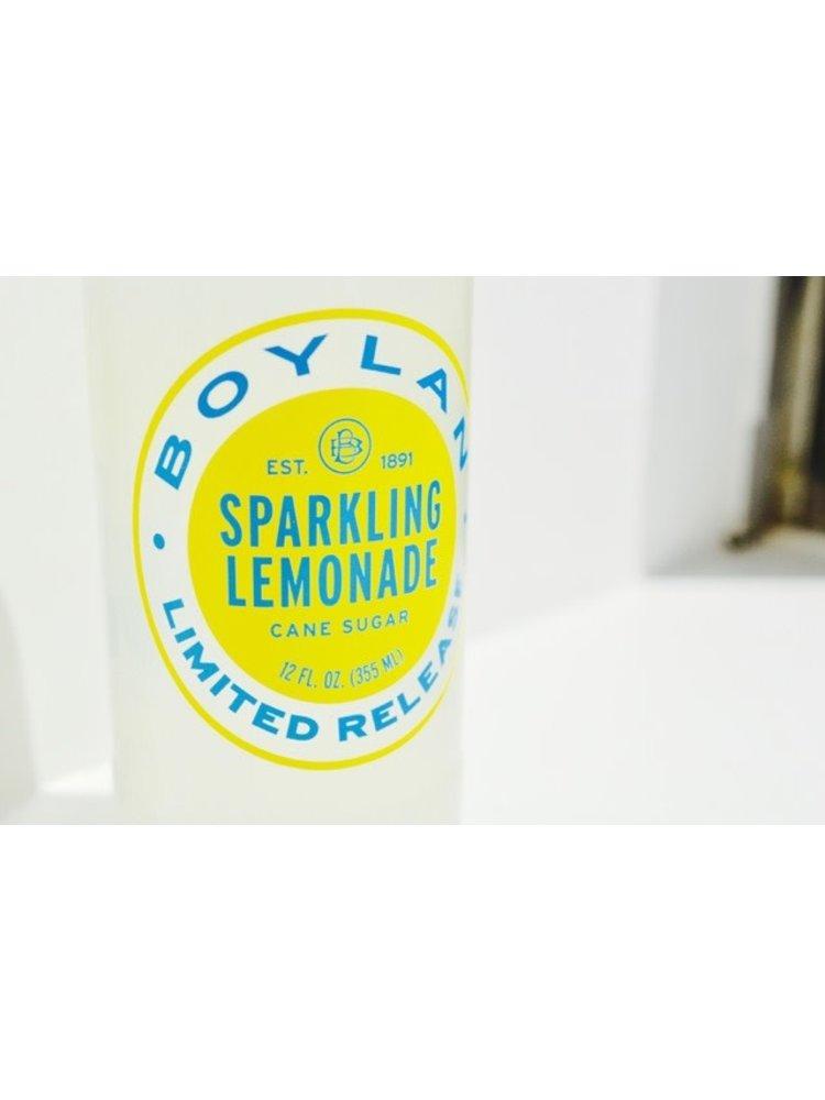Boylan Sparkling Lemonade  with Cane Sugar, New York, NY