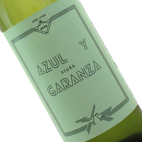 Azul y Garanza 2020 Viura 1Lt, Navarra Spain