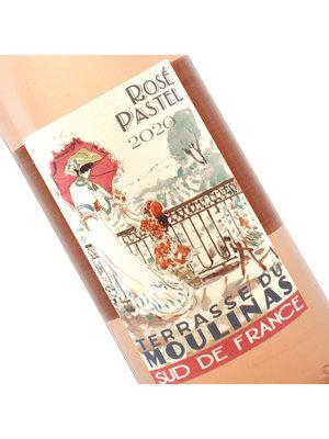 Terrasse Du Moulinas 2020 Rose Pastel, Languedoc, France - 1 Liter