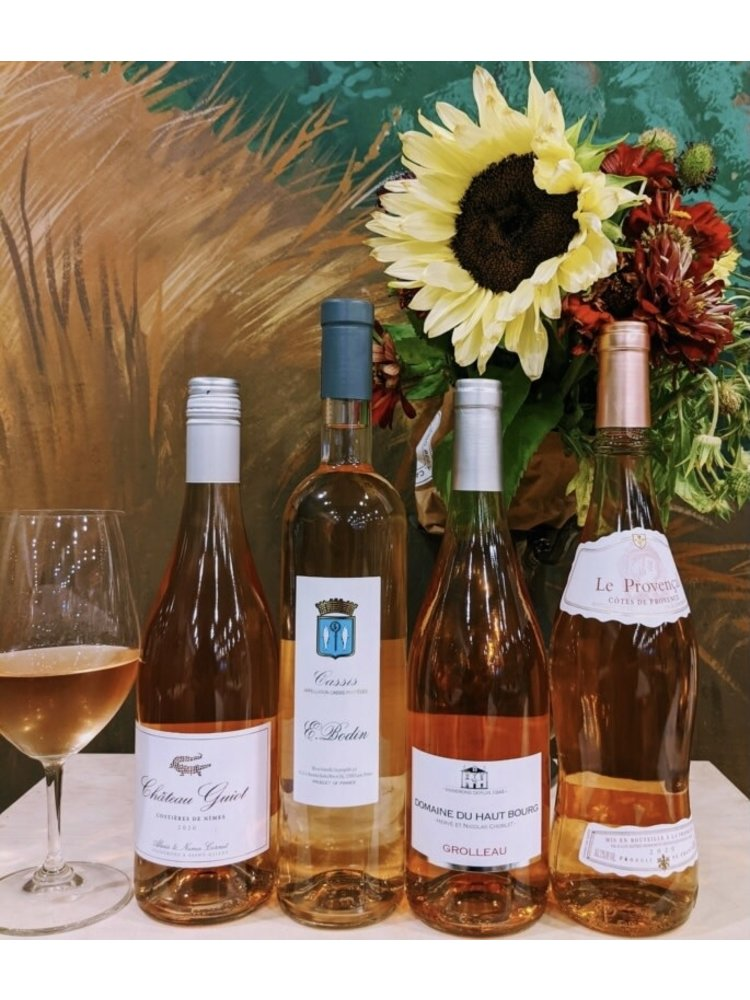 Summer 4-Bottle French Rose Sampler