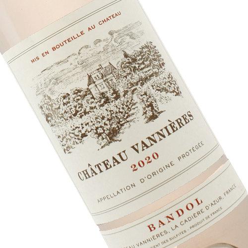 Chateau Vannieres 2020 Bandol Rose, Provence, France