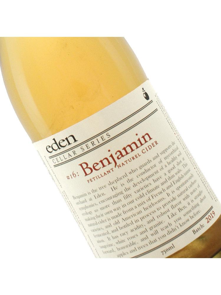 "Eden Cellar 2019 Series #16: ""Benjamin"" Petillant Naturel Cider"