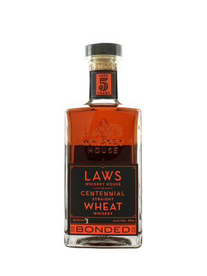 Laws Whiskey Centennial Straight Wheat Bonded