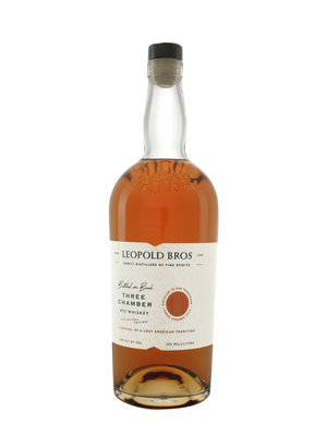 Leopold Bros. Three Chamber Rye Whiskey Bottled in Bond - Collector's Edition, Denver, Colorado