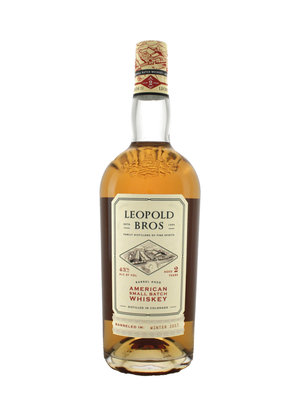 Leopold Bros. American Small Batch Whiskey Aged 2 Years, Denver, Colorado