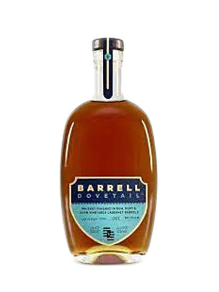"""Barrell """"Dovetail"""" Whiskey Finished in Port, Rum and Dunn Vineyards Cabernet Barrels"""