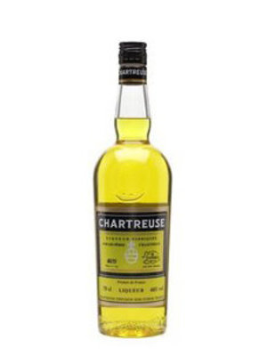 Chartreuse Yellow LIqueur, France 375ml.