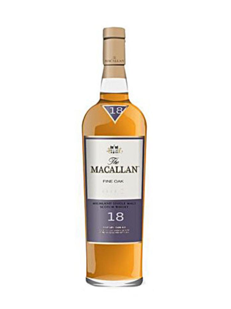Macallan 18 Year Old Highland Single Malt Scotch Whisky