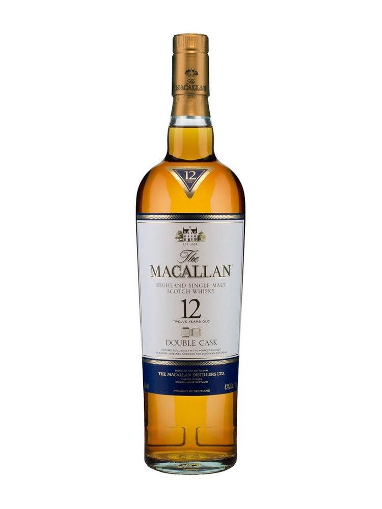 Macallan Double Cask 12 Year Old Highland Single Malt Scotch Whisky
