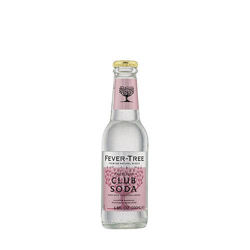 Fever Tree Club Soda - 4pk