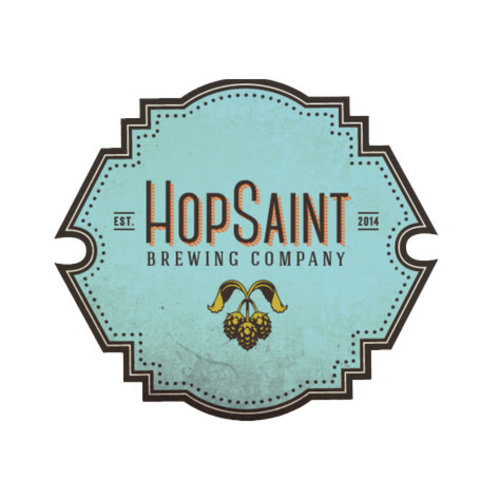 "Hopsaint Brewing ""Happy Pils"" Dry Hopped Pilsner 16oz can- Torrance, CA"