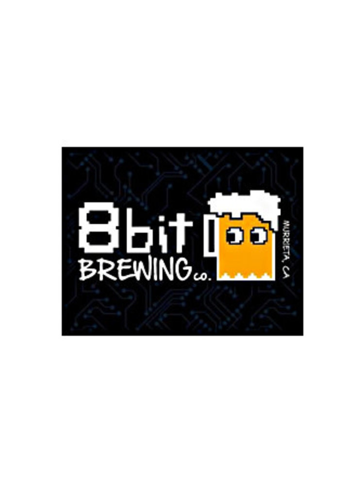 "8 Bit Brewing ""Brewcade""Hazy IPA 16oz can-Murrieta, CA"