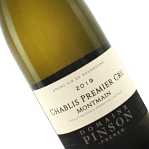"""Domaine Pinson 2019  Chablis Premier Cru """"Montmain"""", Burgundy, France"""